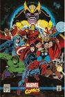 MARVEL COMICS RETRO POSTER THE INFINITY GAUNTLET COVER