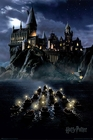 Harry Potter Poster Hogwarts Boats