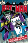 BATMAN POSTER COMIC COVER THE JOKER IS BACK IN TOWN!