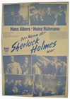 1 x DER MANN DER SHERLOCK HOLMES WAR - POSTER - FILMPLAKAT