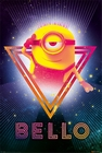 1 x DESPICABLE ME 3 POSTER 80'S BELLO