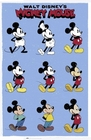 DISNEY MICKEY MOUSE POSTER EVOLUTION