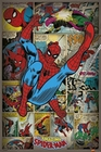 5 x MARVEL POSTER SPIDERMAN RETRO