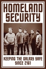 Star Trek Poster Homeland Security