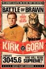 Star Trek Poster Kirk vs Gornstar