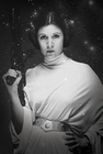 x STAR WARS POSTER PRINZESSIN LEIA (CARRIE FISHER)