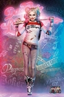 3 x SUICIDE SQUAD POSTER STEHEND HARLEY QUINN