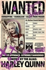 Suicide Squad Poster Wanted Harley Quinn