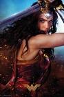 Wonder Woman mit Schwert Poster