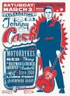 1 x MINI PLAKAT - CELEBRATING JOHNNY CASH