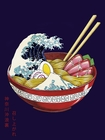 2 x GREAT WAVE RAMEN BOWL KUNSTDRUCK