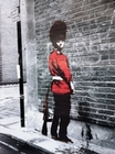 3 x BANKSY POSTER QUEENS GUARD