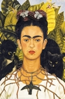 2 x FRIDA KAHLO POSTER PORTRAIT WITH NECKLACE