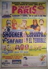 Shocker - Safari vs Ultimo Guerrero - El Terrible - Lucha Libre