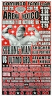 1 x G.T.W.A - LUCHA LIBRE POSTER - STRONG MAN-11 OKT 09