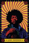 1 x JIMI HENDRIX - POSTER