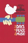 4 x WOODSTOCK - 3 DAYS OF PEACE AND MUSIC - POSTER