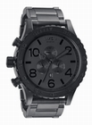 THE 51-30 CHRONO - MATTE BLACK / MATTE GUNMETAL - NIXON UHR