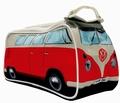 x VW BUS T1 KULTURBEUTEL BULLI - ROT - VOLKSWAGEN