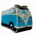 VW BUS T1 KULTURBEUTEL BULLI - BLAU - VOLKSWAGEN