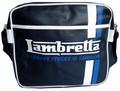 1 x LAMBRETTA TASCHE - STREIFEN NAVY