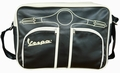5 x VESPA SCHULTERTASCHE - SCHWARZ