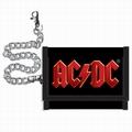 GELDBÖRSE MIT KETTE - AC/DC