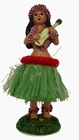 1 x HULA DOLL - HULA GIRL MIT GITARRE - GRN