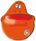 Barbapapa Blumentopf - Rot