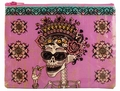 DAY OF THE DEAD ZIPPER TASCHE