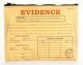 1 x EVIDENCE ZIPPER TASCHE