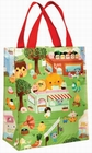 1 x HAPPY FOOD TOWN SHOPPER KLEIN - TRAGETASCHE