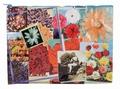 1 x JUMBO ZIPPER TASCHE - FLOWER GARDEN