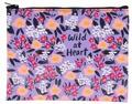 x ZIPPER TASCHE - WILD AT HEART