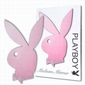 1 x PLAYBOY SPIEGEL MEDIUM PINK GET�NT