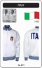 x ITALIEN RETRO TRAININGSJACKE FUSSBALL 1982