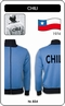 x CHILE RETRO TRAININGSJACKE