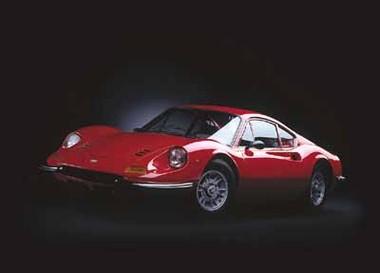 Ferrari Dino 246 GT,  Ren� Staud Poster