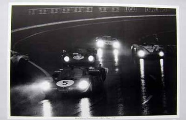 Ickx/Schetty, Ferrari 512S, 24h Le Mans 1970