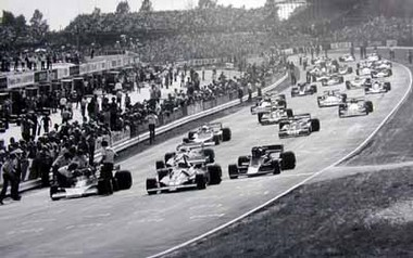 GP Grossbritannien 1976, Hunt und Lauda. Poster