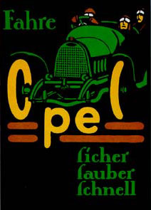 Opel Rennwagen