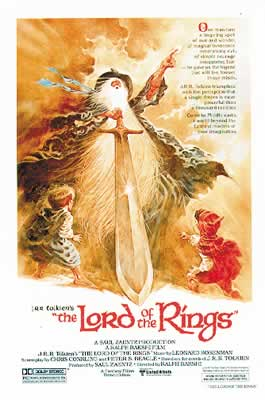 Lord Of The Rings (1978) Poster