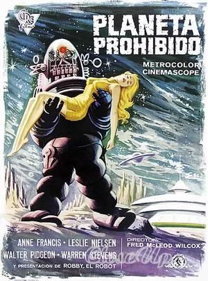 Forbidden Planet - Planeta Prohibido - Poster