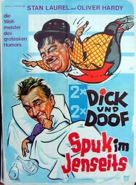 Dick und Doof Spuk im Jenseits - Poster - Filmplakat