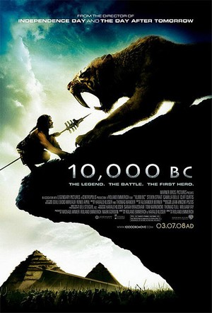 10.000 B.C. - Poster