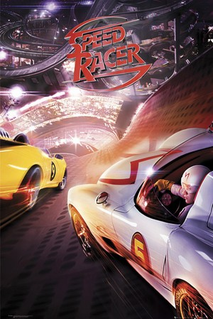 Speed Racer - Racing Scene - Poster