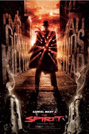 The Spirit - Gabriel Macht is the Spirit - Poster