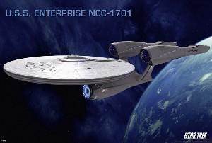 Star Trek XI Poster - Enterprise New NCC-1701
