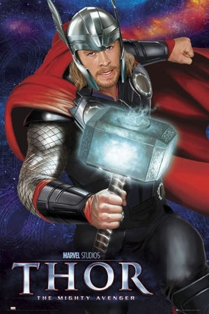 Thor Poster Hammer Chris Hemsworth