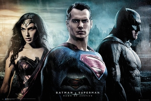 Batman vs Superman Poster Trio
